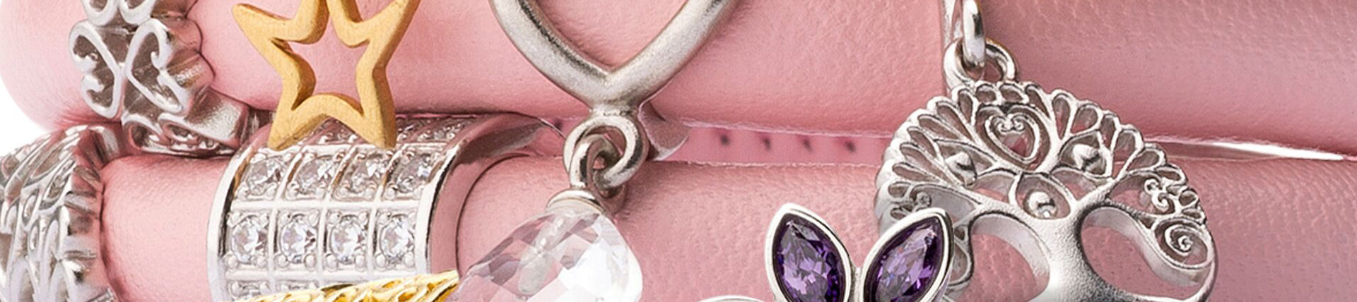 Endless Sterling Silver Charms and Leather Bracelets by Jennifer ...