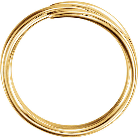 Open Space Ring in Yellow Gold