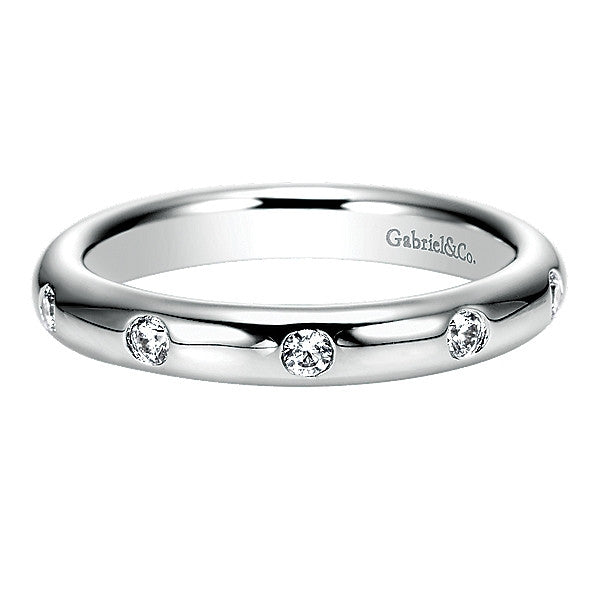 Eternity White Gold Diamond Band
