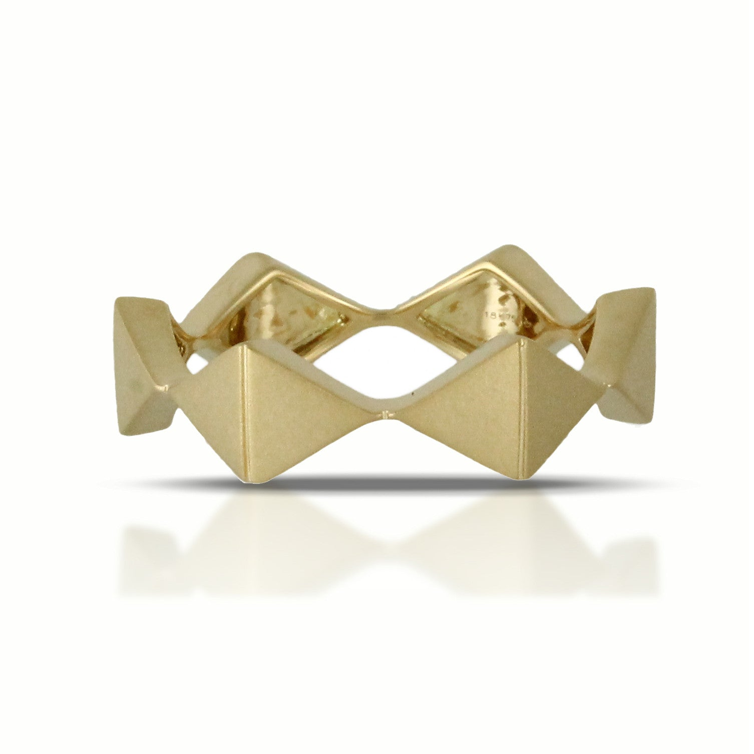 Doves Ladies' 18k Yellow Gold Band by Jewelry Designer Doron Paloma
