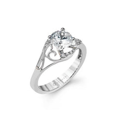 Simon G Open Filigree Engagement Mounting