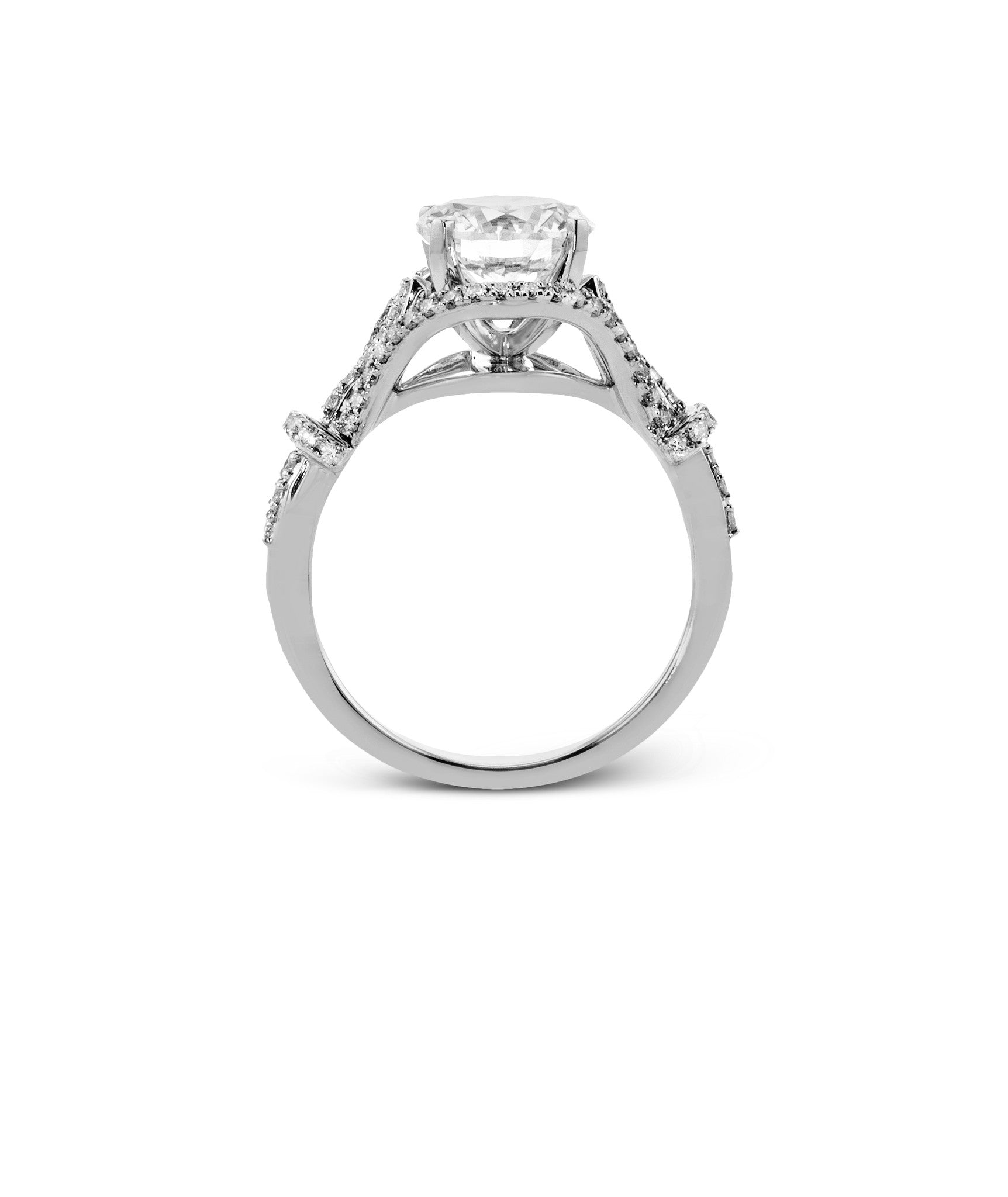 ring set da marquise rings diamond in gold twt ct w white prong halo certified split diamonds e cut engagement shank