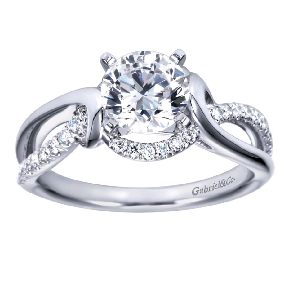 Split Bypass Diamond Engagement Mounting