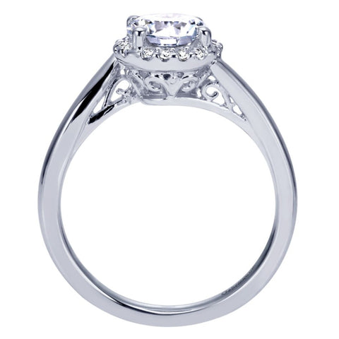 Tiffany Bypass Diamond Engagement Mounting