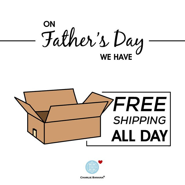 Happy Father's Day! Enjoy shipping on us!