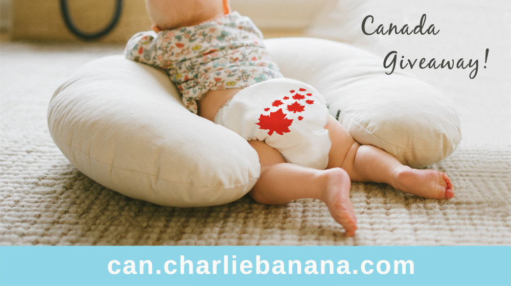 www.charliebanana.ca Website is LIVE!  Celebration for Canadians with Eco-Friendly Giveaway