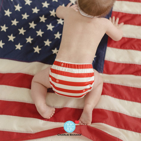 Free Shipping coupon on Charlie Banana products to Honor Memorial Day