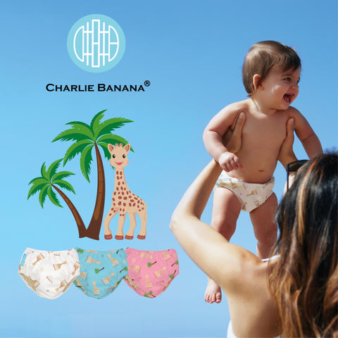 Charlie Banana reusable cloth diapers are now available at kroger.com