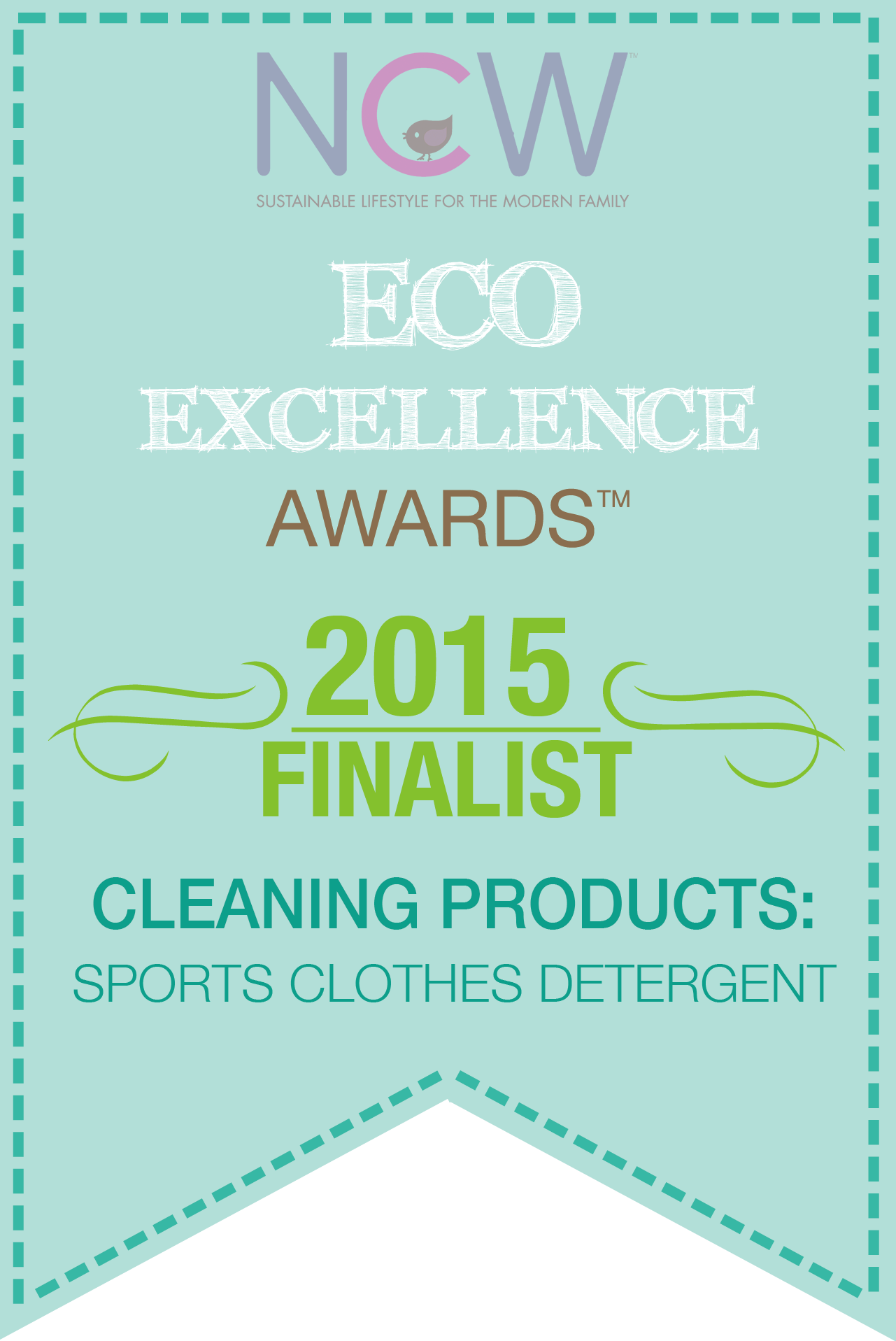 Cleaning Products: Sports Clothes Detergent - Eco Excellence Awards 2015