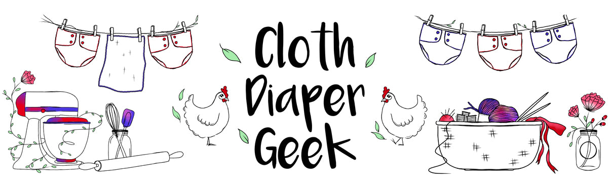 Valentine's Day Cloth Diapers by Diaper Geek