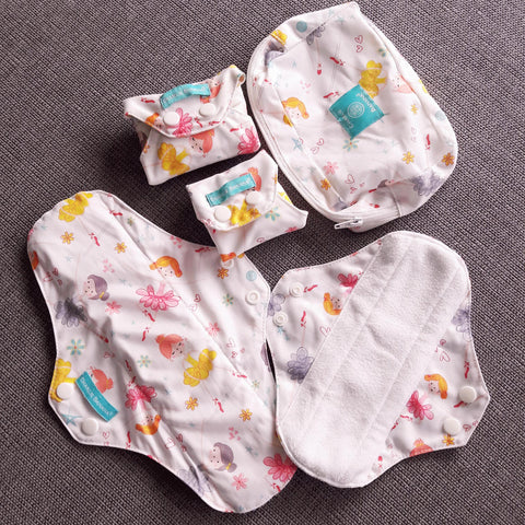 Charlie Banana reusable feminine pads. Perfect for first period and any period after! Health, eco-friendly, economical menstrual product.
