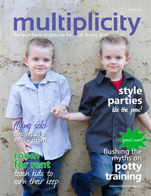 Multiplicity Magazine Special Insert - Potty Training 101: everything you need to know to get the job done.