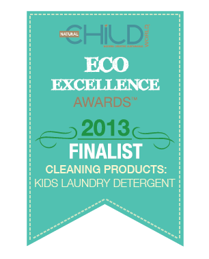 Cleaning Products: Kids Laundry Detergent - Eco Excellence Awards 2013