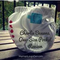 Charlie Banana® One Size Pocket Diaper Review - Maman Loup's Den