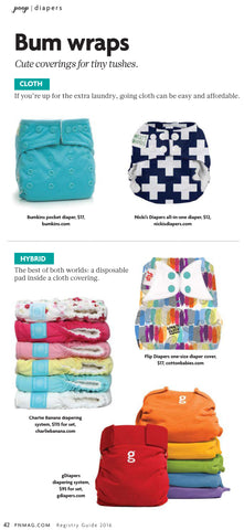 Bum Wraps by Pregnancy & Newborn's Spring Registry Guide