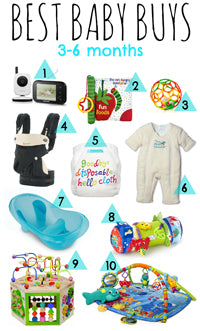 Best Baby Buys 3-6 Months by To the sea blog