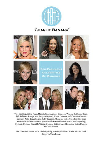 Eco-fabulous Celebrities go bananas