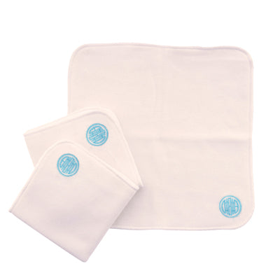 10 Double Sided Wipes Blue