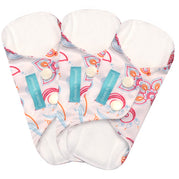 3 Feminine Pads Liner Cotton Bliss