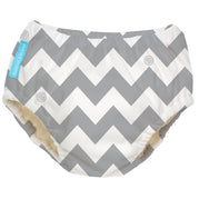 Reusable Swim Diaper Grey Chevron Medium