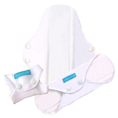 3 Feminine Pads Super White