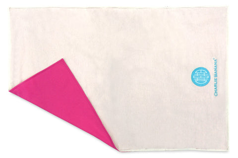 Change Pad Organic Cotton Hot Pink Charlie Banana