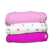 3 Diapers 3 Insert Girl X-Small