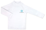 Rash Guard White 12-18 months