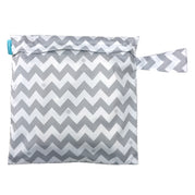 Tote Bag Grey Chevron