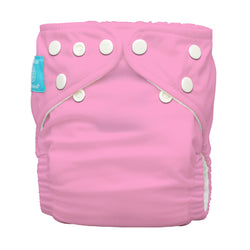 Diaper 2 Inserts Baby Pink One Size