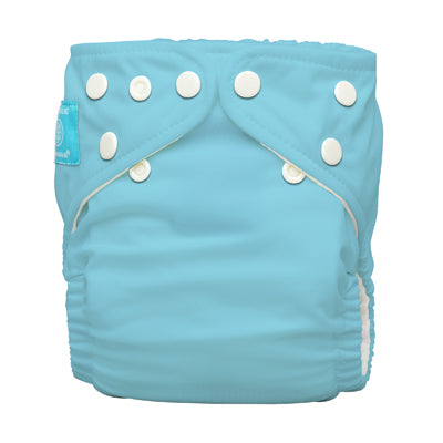 Diaper 2 Inserts CB Blue One Size Hybrid AIO