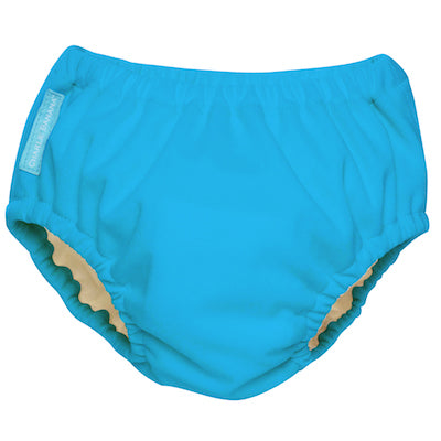 Reusable Swim Diaper Turquoise Large