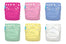 6 Diapers 12 Inserts Girl One Size Hybrid AIO