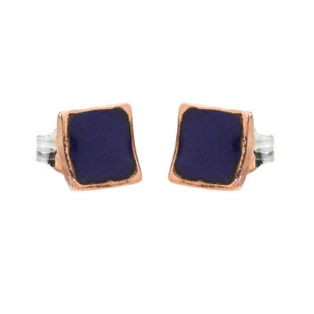 Copper square studs