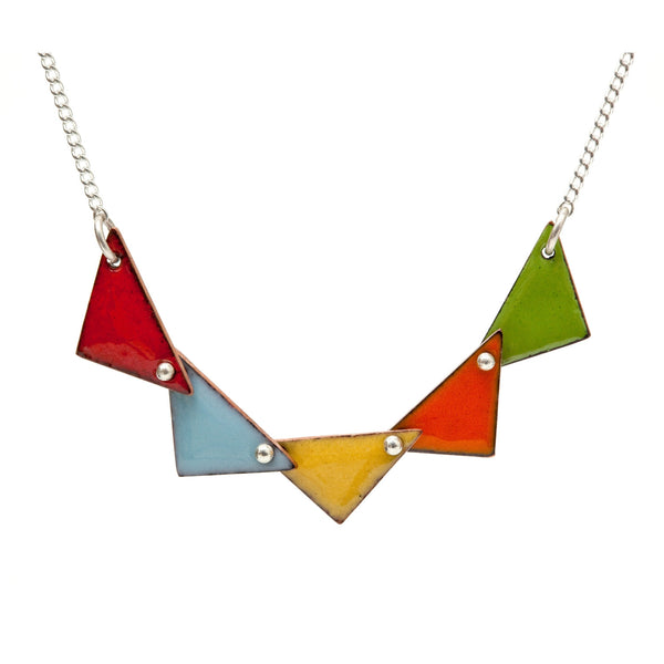 Grand Pennant Necklace
