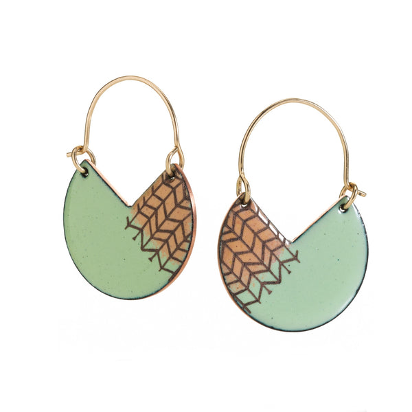 Segment Earrings