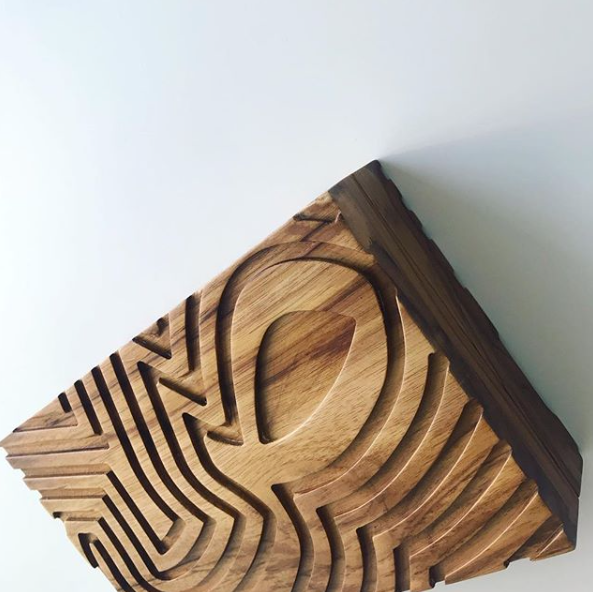 The Customized Wood Clutch