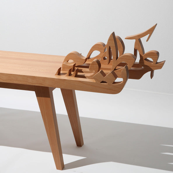 The Floating Letters / Bench - Table