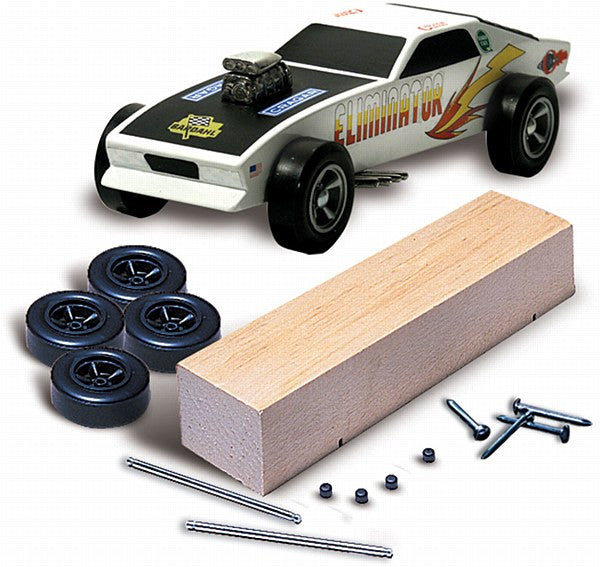 Pinecar Racer Basic Kit