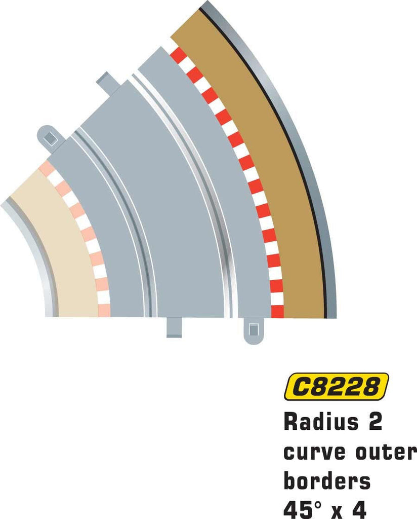 R2 Outer 45 Border and Barrier - C8228