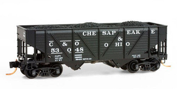 N 33' 2-Bay Wood Hopper C&O
