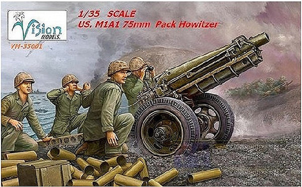 1:35 USA M1A1 75mm Howitzer