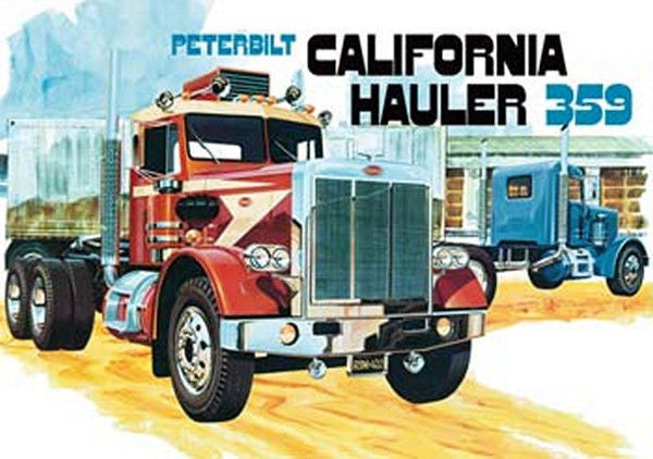 1/25 Peterbilt 359 California