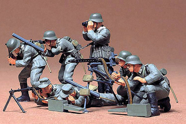 1:35 GER Machine Gun Troops