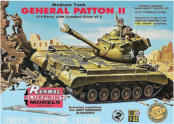1:32 USA M47 Patton Tank