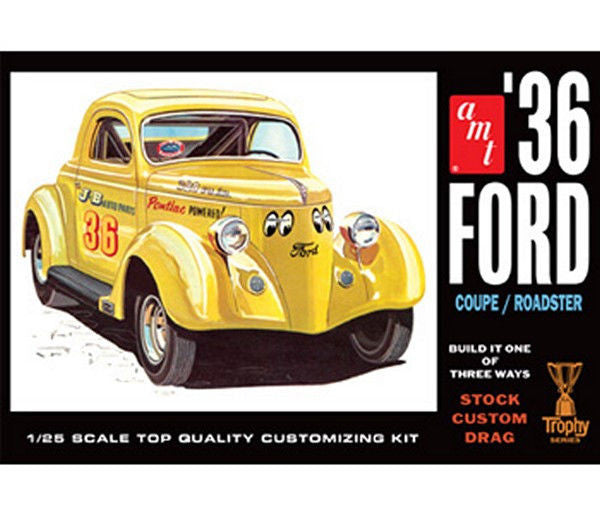 1:25 '36 Ford Coupe