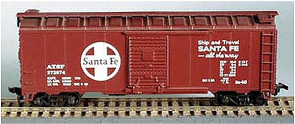 HO 40' Boxcar SF Kit