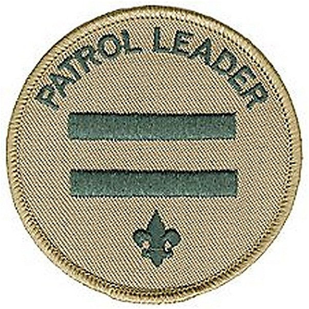 BSA Patrol Leader Emb