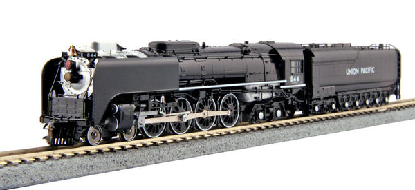 KATO N FEF-3 4-8-4 Steam Loco UP #844 FACTORY DCC/Sound 126-0401-LS