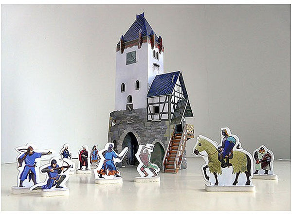 Medieval Guard Tower Paper Kit